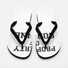 Property of CORINNE Flip Flops
