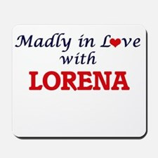 Madly in Love with Lorena Mousepad