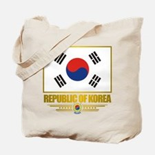 """Republic of Korea Flag"" Tote Bag"