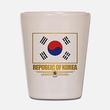 """Republic of Korea Flag"" Shot Glass"