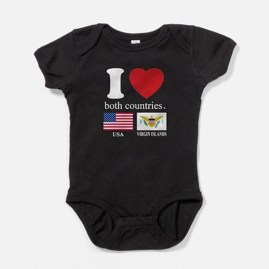 USA-VIRGIN ISLANDS Baby Bodysuit