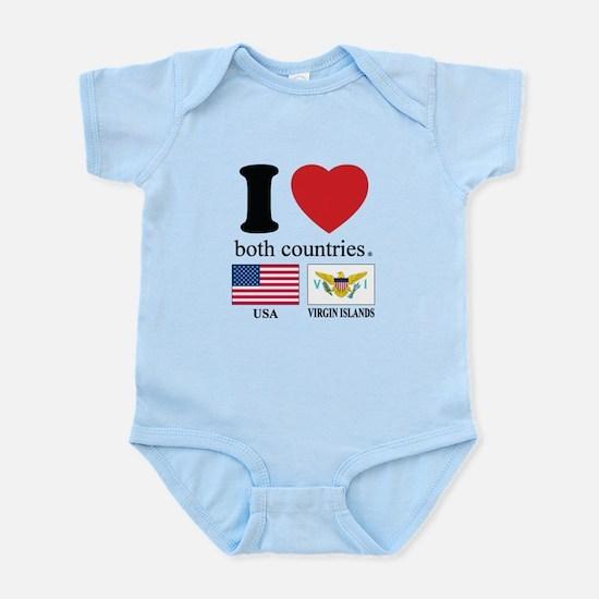 USA-VIRGIN ISLANDS Infant Bodysuit
