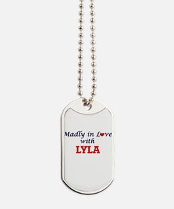 Madly in Love with Lyla Dog Tags