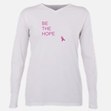 Funny Cancer cure Plus Size Long Sleeve Tee