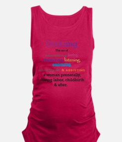 Cool Doula Maternity Tank Top