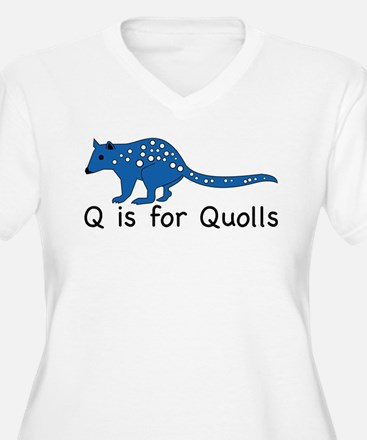 Q is for Quolls T-Shirt