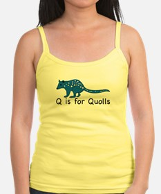 Q is for Quolls Jr.Spaghetti Strap