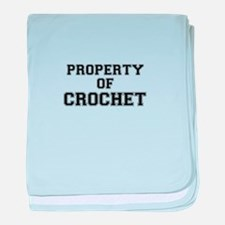 Property of CROCHET baby blanket