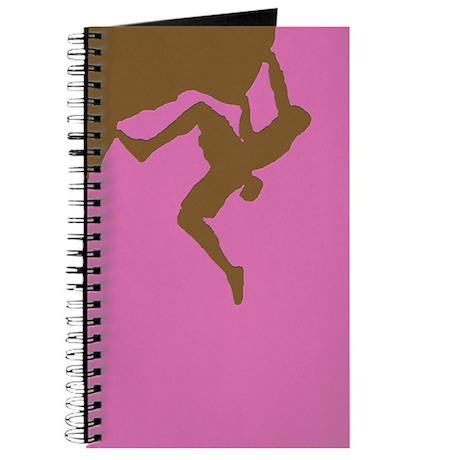 PINK GREEN CLIMBER Journal
