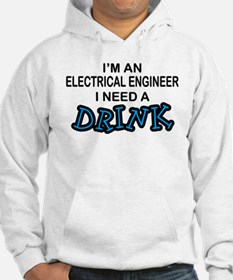EE Need a Drink Jumper Hoody