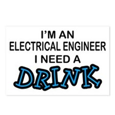 EE Need a Drink Postcards (Package of 8)