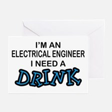 EE Need a Drink Greeting Cards (Pk of 10)