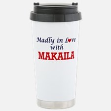 Madly in Love with Maka Stainless Steel Travel Mug