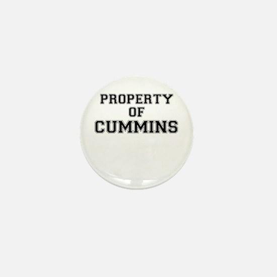 Property of CUMMINS Mini Button