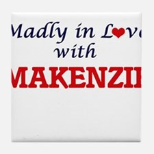 Madly in Love with Makenzie Tile Coaster