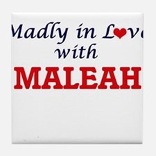 Madly in Love with Maleah Tile Coaster