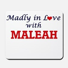 Madly in Love with Maleah Mousepad