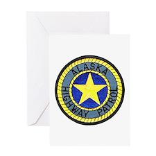 Alaska Highway Patrol Greeting Card