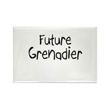 Future Grenadier Rectangle Magnet