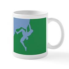 BLUE GREEN CLIMBER Mug