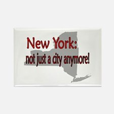New York State Rectangle Magnet
