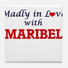 Madly in Love with Maribel Tile Coaster