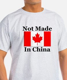 Not Made In China - Canadian T-Shirt