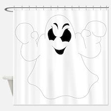 Halloween Ghost Shower Curtain