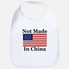 Not Made In China - America Bib