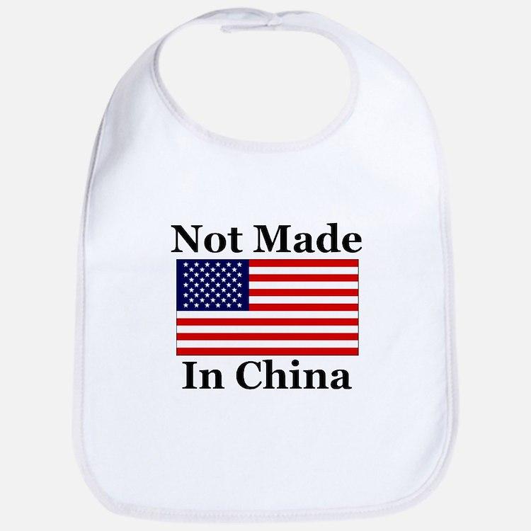 Not Made In China - America Bib