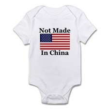 Not Made In China - America Infant Bodysuit