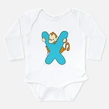 Zoo Alphabet X - Monkey Body Suit