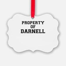 Property of DARNELL Ornament