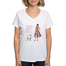 Pink Poodle Philosophy Shirt