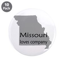 "Missouri Loves Company 3.5"" Button (10 pack)"