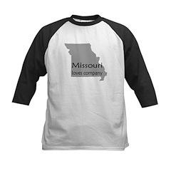 Missouri Loves Company Kids Baseball Jersey