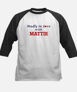 Madly in Love with Mattie Baseball Jersey