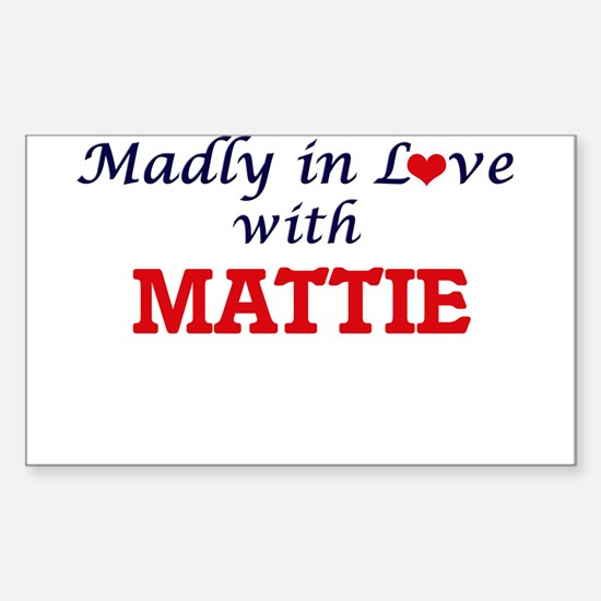 Madly in Love with Mattie Decal