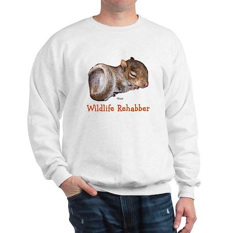 Baby Squirrel Rehab Sweatshirt