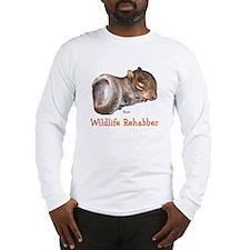 Baby Squirrel Rehab Long Sleeve T-Shirt