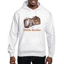 Baby Squirrel Rehab Hoodie