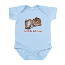 Baby Squirrel Rehab Infant Bodysuit