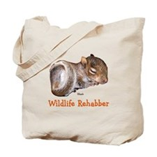 Baby Squirrel Rehab Tote Bag