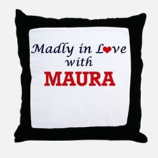 Madly in Love with Maura Throw Pillow