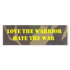 Love the Warrior bumper sticker