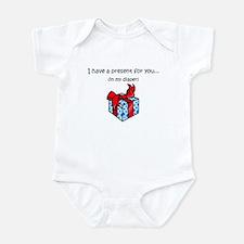 GIFT IN DIAPER Infant Bodysuit