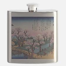 Unique Cherry tree Flask