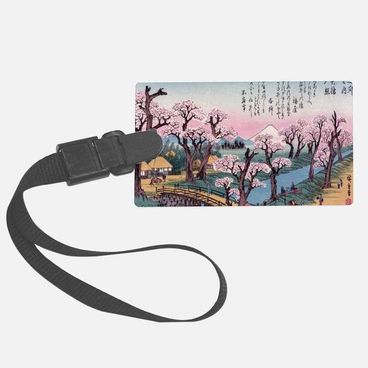 Cute Cherry blossom Luggage Tag