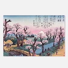 Unique Ukiyo e Postcards (Package of 8)
