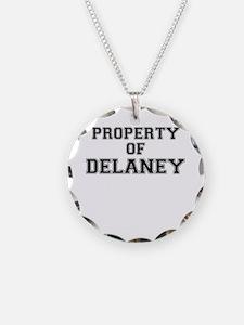 Property of DELANEY Necklace